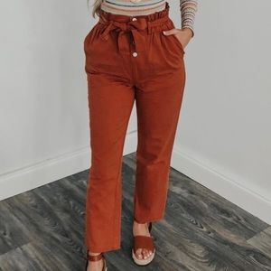 Women's High-waisted Pants